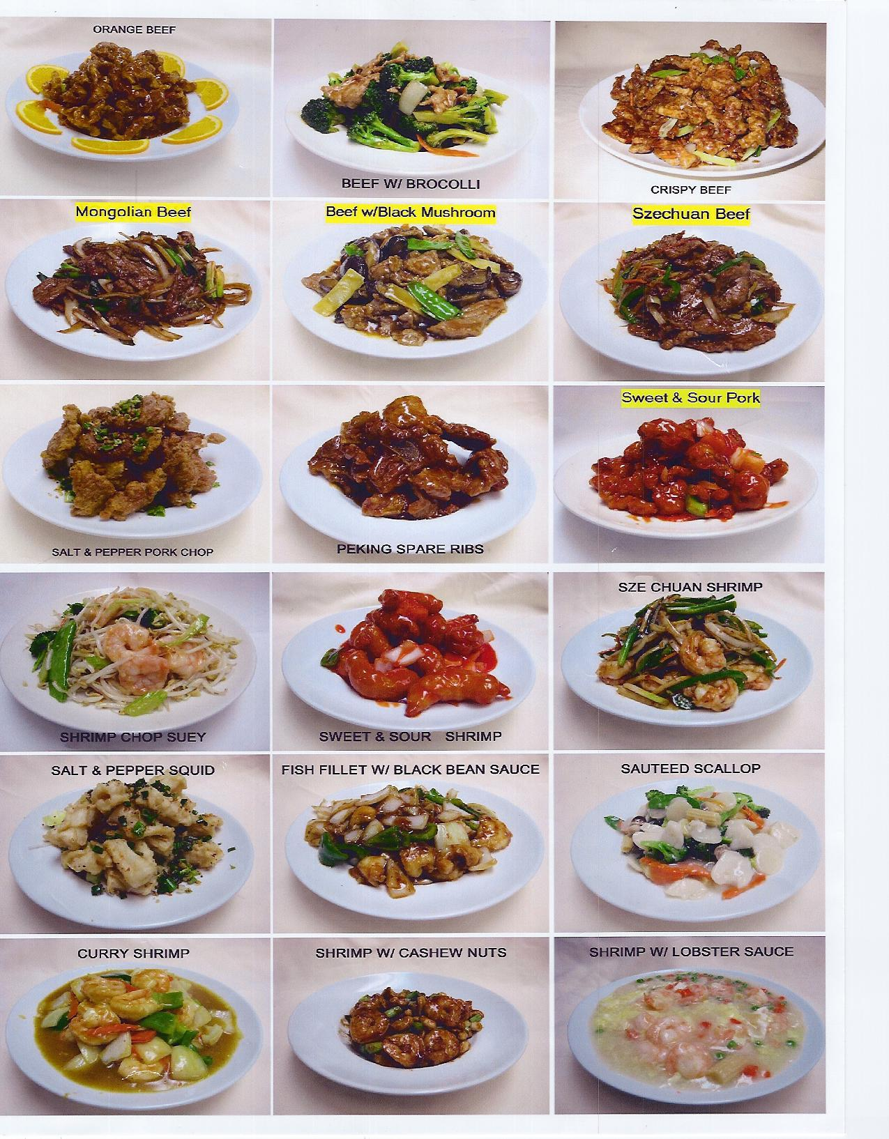 Chinese party food wedding reception and fun party food for Asian 168 cuisine menu